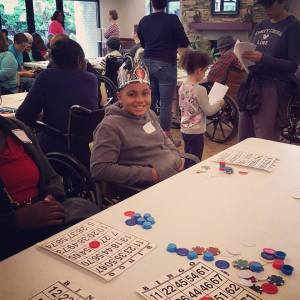 BINGO at the Senior Living Facility