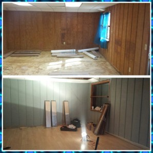 Replacing the floors